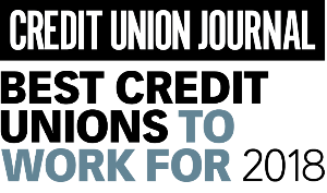 Logo for Best Credit Unions to Work For