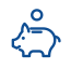 Pig bank icon