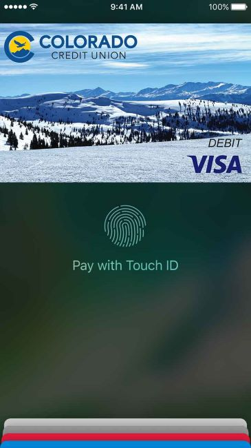 iPhone Touch ID screen Apple Pay