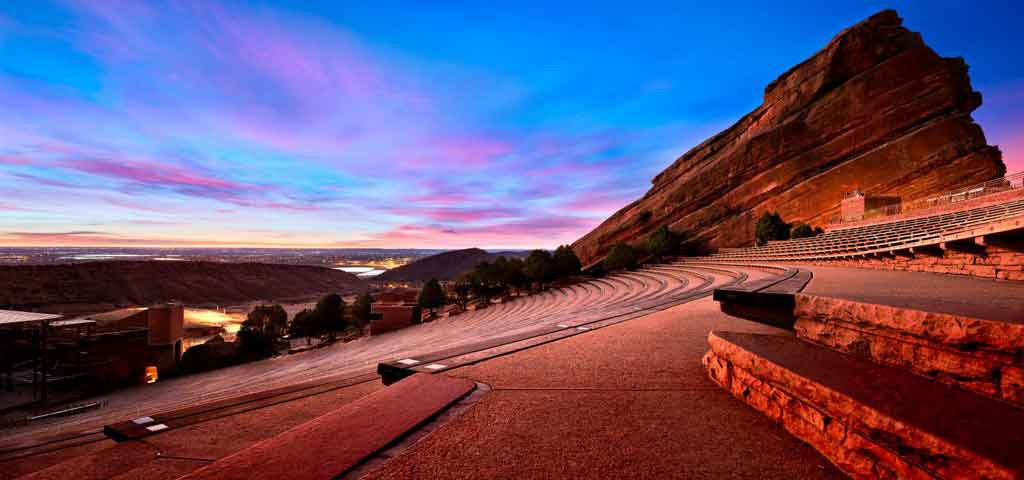 Amphitheater in Colorado